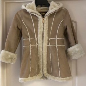 Hawks & Co. Outfitter Faux-Shearling Coat, 7/8 &14